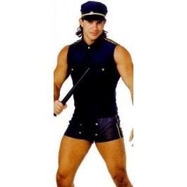 Fantasia Policial Europeu Sexyman SexShop Outlet do Prazer