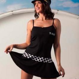 Vestido Taxista Aline Lingerie Outlet do Prazer