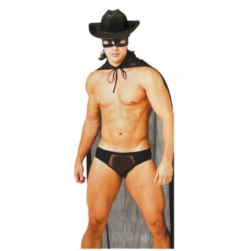 Fantasia Zorro Sexyman SexShop Outlet do Prazer