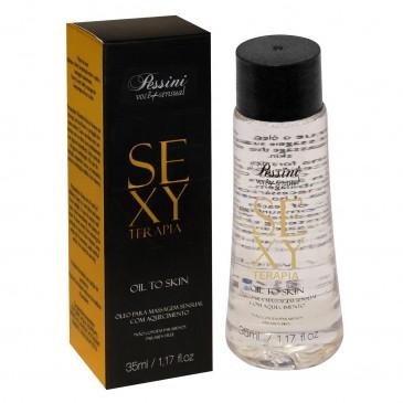 Óleo de Massagem com Aquecimento Sexy Terapia Pessini Sex Shop Outlet do Prazer