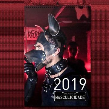 Calendário Leather Pets Masculicidade 2019