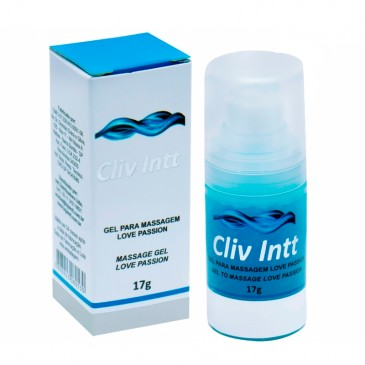 Gel Lubrificante Anal Cliv Intt Love Passion - 17g