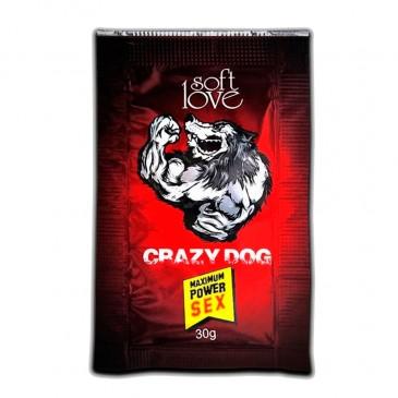 Energético Masculino CRAZY DOG Soft Love SexShop Outlet do Prazer