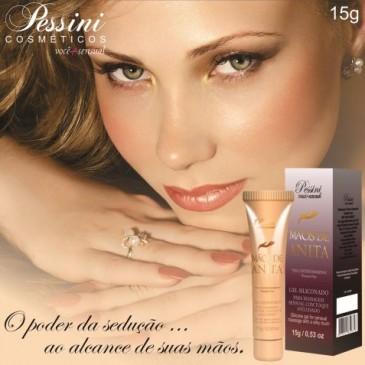 Gel Siliconado para Massagem Sensual com Toque Aveludado Mãos de Anita Pessini
