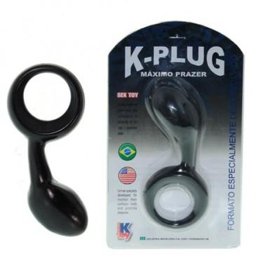 Estimulador Massageador de Próstata K-Plug Máximo Prazer Ktoy
