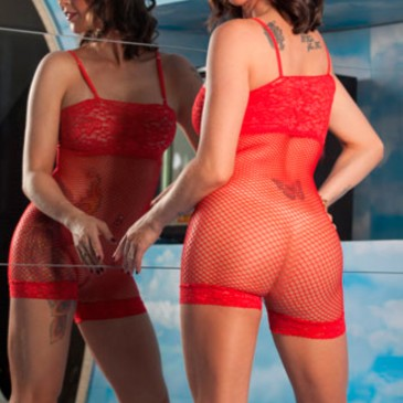 Macacão Lane Aline Lingerie SexShop Outlet do Prazer