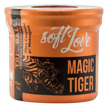 Magic Tiger Bolinha Estimulante Soft Ball