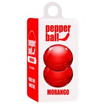 Bolinha Beijável Pepper Ball Morango