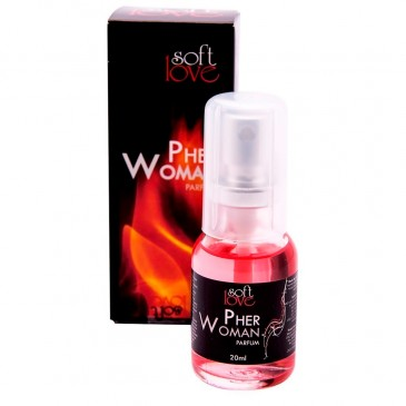 Perfume Feromônios Pher Woman Soft Love