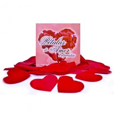 Pétalas Perfumadas em Formato de Coração