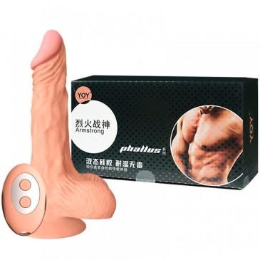 Prótese Pênis Rotativo ZAKI 20cm