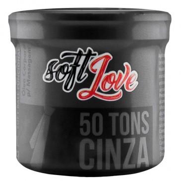 Soft Ball 50 Tons Cinza Bolinha Estimulante