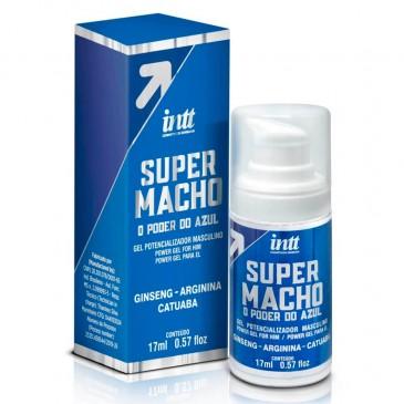 Super Macho Gel Potencializador INTT SexShop Outlet do Prazer