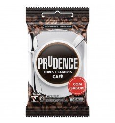 Preservativo Prudence CAFÉ sex shop Outlet do Prazer