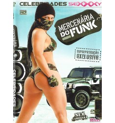 DVD Mercenária do Funk