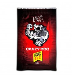 Energético Masculino CRAZY DOG Soft Love SexShop Outlet do Prazer