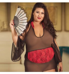 Fantasia Plus Size Gueixa do Amor Aline