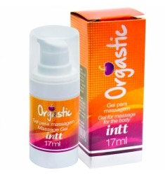 Orgastic Gel para Massagem Eletrizante 17ml Intt