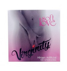 Virginity Membrana Biodegradável 03 Unidades Soft Love