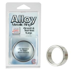 Anel Peniano Alloy Metallic Ring Tamanho Grande