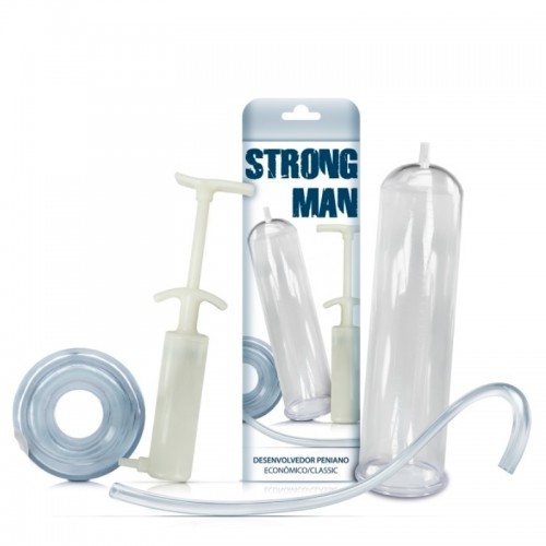 Bomba Peniana Strong Man BASIC Outlet do Prazer