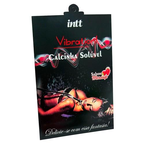 Calcinha Comestível Vibration Intt Sexshop Outlet do Prazer