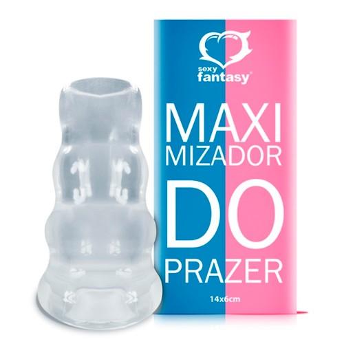 Capa Peniana Maximizador de Prazer SexShop Outlet do Prazer