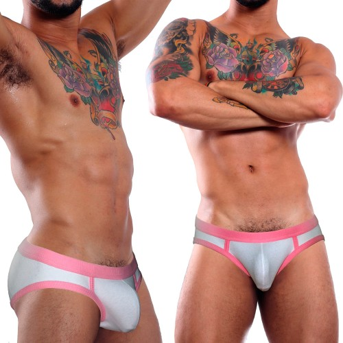 Cueca Slip Essential Briefs ROSA SHOCK