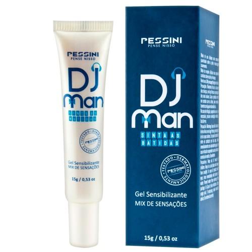 DJ Man Excitante Para o Homem Pessini Outlet do Prazer