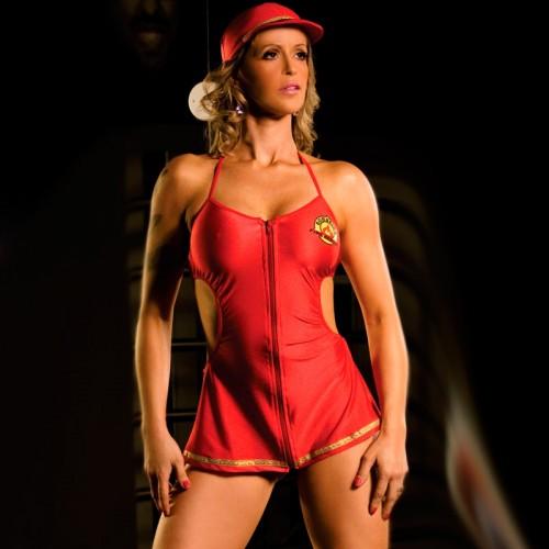 Vestido Bombeira Aline SexShop Outlet do Prazer