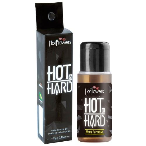 Gel Hot Hard Provocador e Prolongador de Ereção