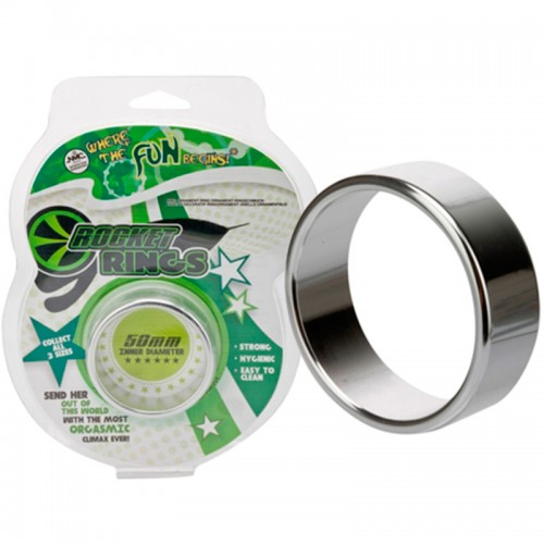 Anel Peniano em Metal Alloy Rocket Ring XL
