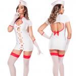 Fantasia Enfermeira Hot Flowers